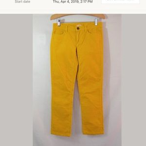 J.Crew Matchstick Ankle Corduroy Pants Size 24